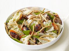 Asian Chicken Salad Recipe : Food Network Kitchen : Food Network - FoodNetwork.com