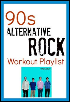 Bust out your Discman and get ready to rock out with this high-energy 90s workout playlist! We even give you moves to do with each song!