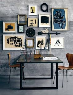 dining rooms, wall art, frame, offic, gallery walls, art displays, apartments, wall galleries, art walls