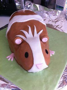 guinea piggi, guinea pig cake, guinea pigs, birthday cakes