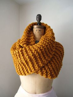 chunky cowl-knit
