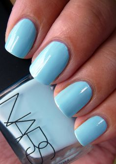 This colour is Gorgeous! Need to find a dupe cause I would never pay $$$ for NARS nail polish!