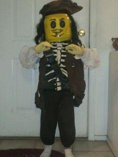 Lego Jack Sparrow costume