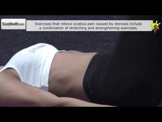 Stretching exercises for spinal stenosis (lower back pain)
