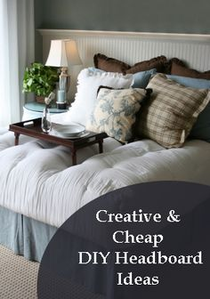 DIY Creative and Cheap DIY Headboard Ideas