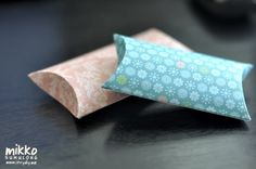 i try DIY: Weekly Wrap-Up: Pillow Boxes