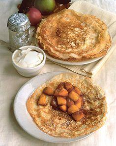 Caramelized Apple Crepes - Martha Stewart Recipes