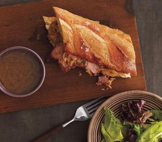 Slow-Cooker French Dip Sandwich recipe
