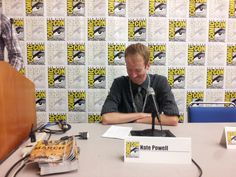 """March"" artist Nate Powell soaks it all in at the John Lewis-led panel @Comic_Con #SDCC #historyinthemaking"