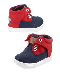 High-top TOMS for littles. :)