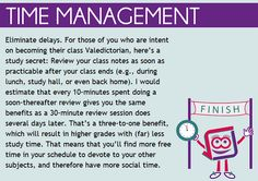 Time Management tip for students