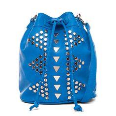 I love the Street Level Studded Drawstring Bag from LittleBlackBag http://lbb.ag/b32a