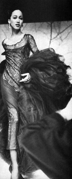 KARL LAGERFELD, AW88: pat cleveland.