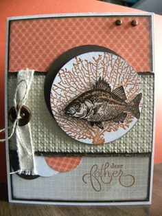 By The Tide, Fathers Day by Oh_Kat - Cards and Paper Crafts at Splitcoaststampers