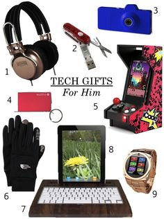 Cool tech gifts for guys