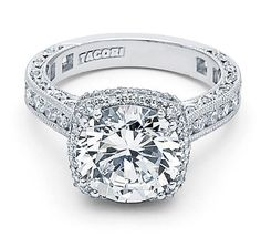I heart this ring from TACORI! Style no: HT2607RD10