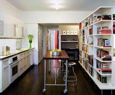 Open sides shelves