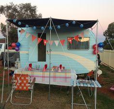 Vintage Caravan party