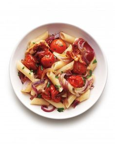 Roasted Tomato and Pancetta Penne Recipe
