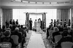 Beautiful wedding ceremony in our elegant Governor's Room.