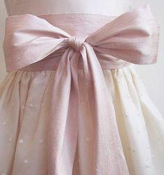 skirt, fashion, style, dress, pink bow, blush pink, vintage roses, pretti, big bows