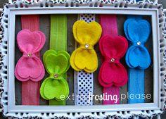 Felt Bow Baby Headband Gift Set Collection