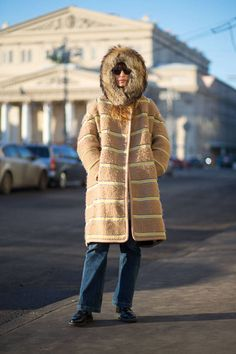 Look at the best street style coat looks for the upcoming winter months.
