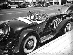 The Clark Gable 1935 SSJ Duesenberg in Los Angeles