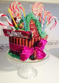 Charlie and the Chocolate factory cake