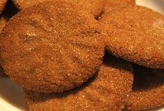 Gingersnap cookies that scream for a glass of milk! http://www.quick-german-recipes.com/ginger-snap-cookie-recipe.html may just become your best cookie recipe :) gingersnap cooki, ginger snap, ginger cookies, cookie recipes, cooki recip