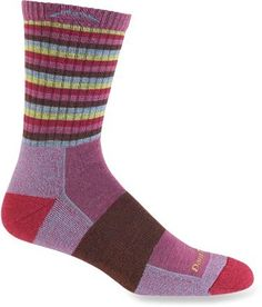 Darn Tough Light Hiker Micro Crew Socks - Women. These socks are locally sourced and made.