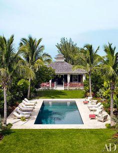 The Pink Pagoda: Alessandra Branca's Bahamas Home