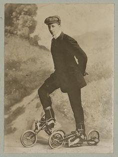 Roller skating, c.1905-1913 - Retronaut