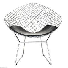 modern bertoia diamond arm chair #followitfindit