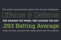 Born out of the Industry typeface, Factoria is a geometric, square slab. The hard-working family can jump from the side of an industrial building and into a sports magazine in a jiffy. The lighter weights exhibit a clean, no-nonsense vibe while the thicker weights exude strength and character. Italics felt like a necessity as the square slab genre and its uses call for type on the move. The set intentionally does not diverge far from the roman style and includes visual corrections as needed.