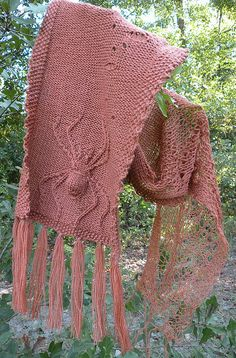 October is for Spinners scarf by idyllicchick, via Flickr