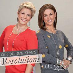 Silpada Designs' Co-Presidents on New Year's Resolutions | Silpada Blog #NewYear #WomensFashion