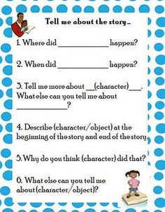 Freebie to boost comprehension