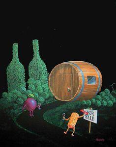 Wine Cellar~Michael Godard