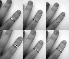 above knuckle rings
