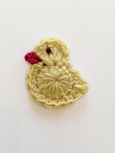 Easter chick, free pattern by pearl hegedus #crochet