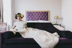 Beautiful 60's styled bride... Culver Hotel