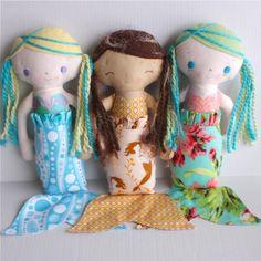 Mermaid sewing pattern
