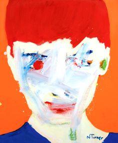 "Saatchi Online Artist: Neal Turner; Oil, 2013, Painting ""Audrey Hepburn"""