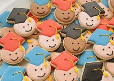 Mini Graduate Cookies Close Up | Flickr - Photo Sharing!
