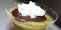 Nem opskrift på dessert med mango, ananas og passionsfrugt.