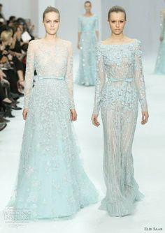 Elis Saab Spring 2012 Couture