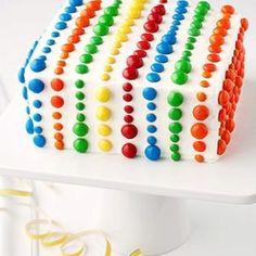 M & M cake  // inspiration pic