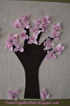 handprint trees