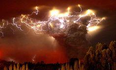 Volcan Puyehue en erupcion